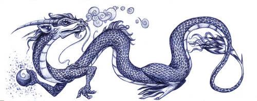 pen-dragon by iv0rine