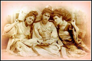 Edwardian Trio by ErosMyth