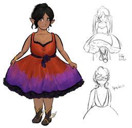 Dress for Genna by emmylunas