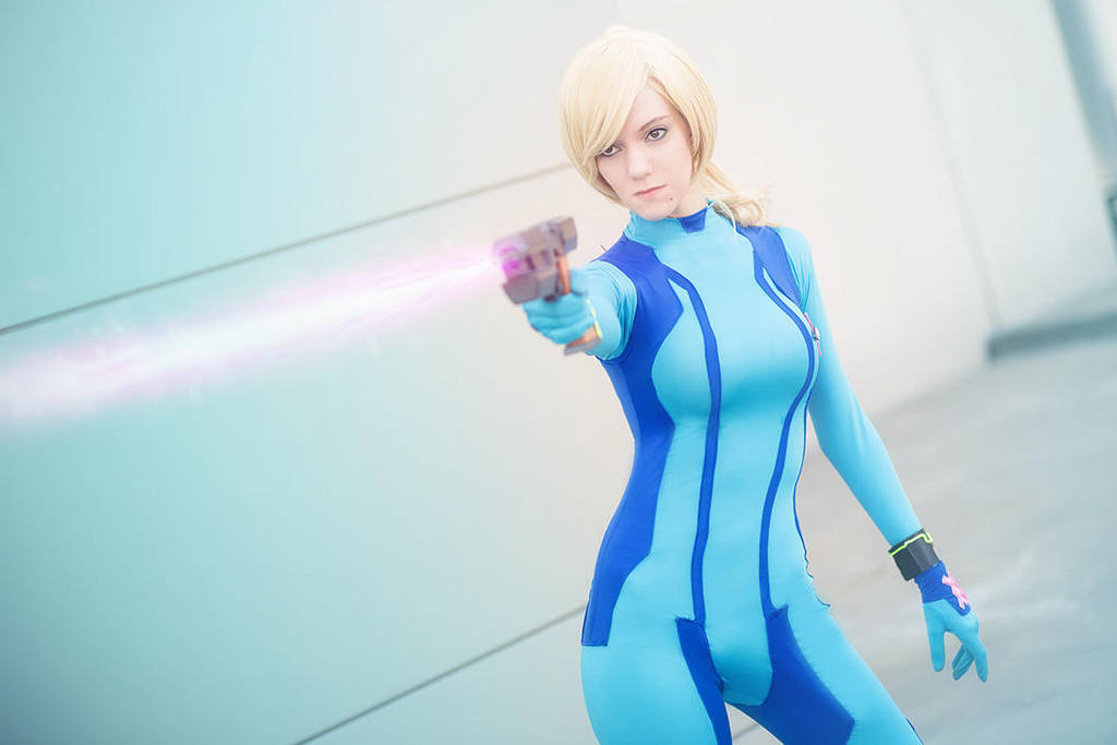 Zero Suit Samus Pink Laser Beam By Kaninausagi On Deviantart