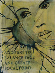 Face With Text by splove