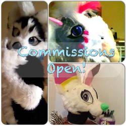Fursuit commissions open! by Allicat1400