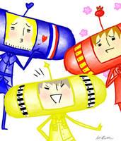 The Badass Trio by Da-Dice