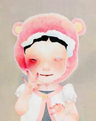 Self portrait by hikarishimoda