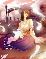 commission-- yuna by Mosske