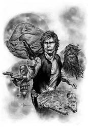 Star Wars - Han Solo by CValenzuela