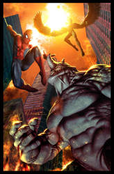 Spider Man - Ambush by CValenzuela