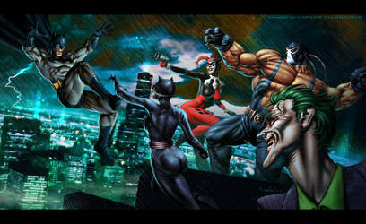 Batman - Gotham Madness by CValenzuela