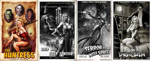 Retro Movie Posters by CValenzuela