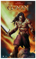 Conan The Barbarian by CValenzuela