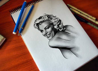 MARILYN by CValenzuela