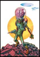 The Martian by CValenzuela