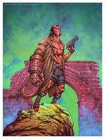 Hellboy by CValenzuela