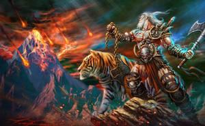 The Barbarian by CValenzuela