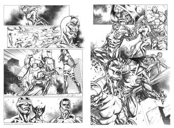 Marvel Sequential Samples by CValenzuela
