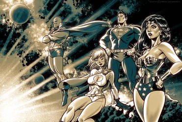 DC Classic Heroes by CValenzuela