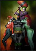 Batman by CValenzuela