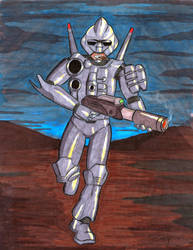 The Goddamn Turrican by RevImhotep