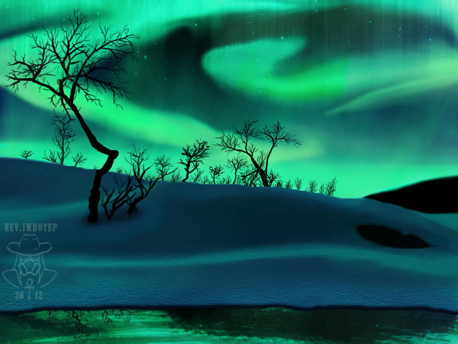 Northern Lights by RevImhotep