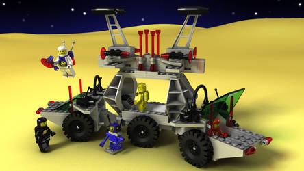 LEGO Solar Power Transporer by zpaolo
