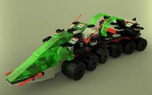 LEGO Space Police II - 6957 Solar Snooper by zpaolo