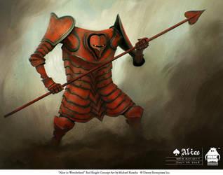 Alice - Red Knight by michaelkutsche