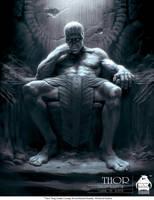 Thor - King Laufey Concept Art by michaelkutsche