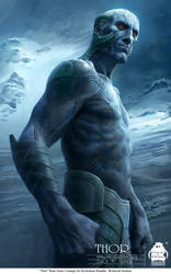 Thor - Frost Giant Concept 2 by michaelkutsche