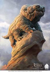 John Carter - Woola Concept Art by michaelkutsche