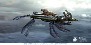 John Carter - Flyer Key Frame Art by michaelkutsche