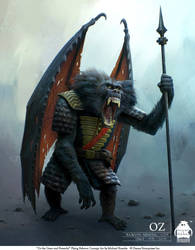 Oz - Flying Baboon Concept by michaelkutsche