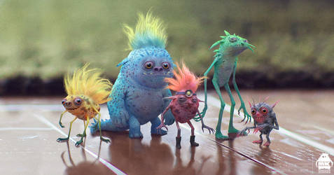 Trolls by michaelkutsche