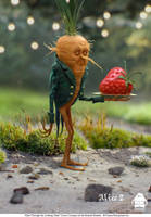 Alice Through the Looking Glass: Carrot Concept by michaelkutsche