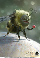 Alice Through the Looking Glass: Human Bumblebee by michaelkutsche