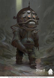 Alice Through the Looking Glass - Gruff Minion by michaelkutsche