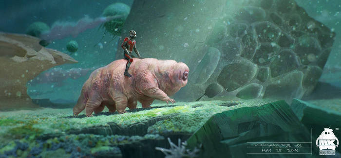 Ant Man and the Wasp - Tardigrade Ride Key Frame by michaelkutsche