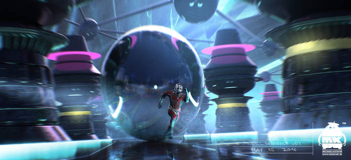 Ant Man and the Wasp - Pinball Key Frame by michaelkutsche