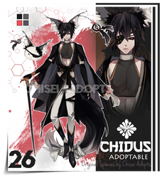 OPEN | Adoptable - CHIDUS Species n:26 by chisei-adopts