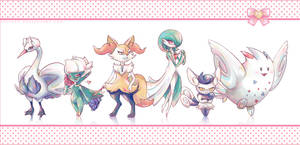 Girliest. Team. EVER. by Blunell