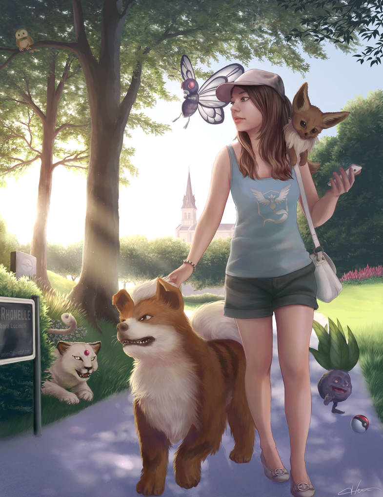 Pokemon Go by Blunell