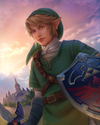 Link - Twilight Princess by Blunell