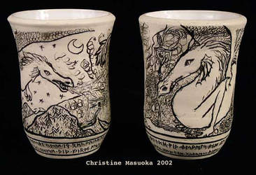Beowulf Cups by CMasuoka