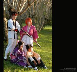 Rurouni Kenshin: Kenshin-gumi by behindinfinity