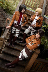 Attack on Titan: I Hope We'll Always Be Together by behindinfinity