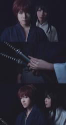 Kenshin and Tomoe: A Sheath by behindinfinity