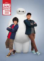 Big Hero 6: Movie Poster Style! by behindinfinity