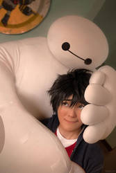 Hiro and Baymax: There, There by behindinfinity