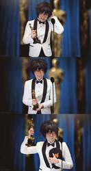 Big Hero 6: Hiro Accepting The Oscar by behindinfinity