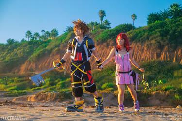 Kingdom Hearts 2: Destiny Islands by behindinfinity