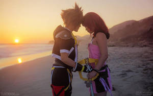 Sora and Kairi: You're Home by behindinfinity